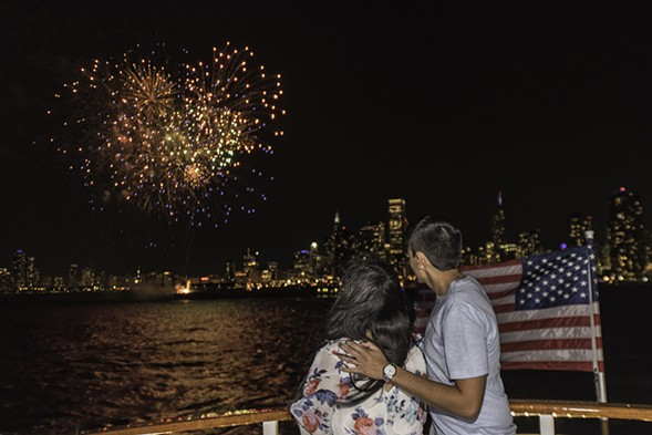 Mercury Skyline Cruiseline hosts Fourth of July 3-D Fireworks Extravaganza on Tuesday 7/4. - COURTESY OF MERCURY SKYLINE CRUISELINE