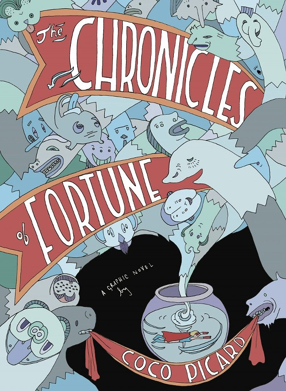 Coco Picard shares her new graphic novel at Challenger Comics Friday 6/30.