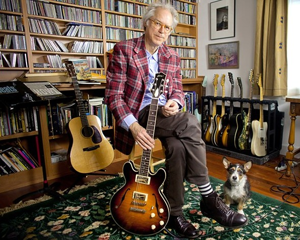 Nothing is planned in advance for Bill Frisell's improvisational jazz performance Saturday 7/1. - DANIEL SHEEHAN