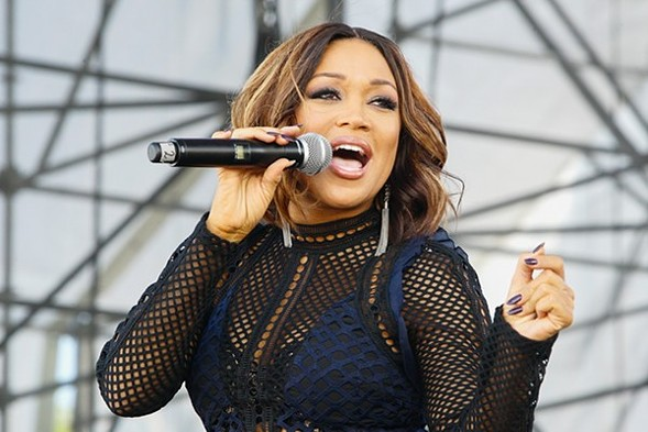 Don't miss Chanté Moore, one of the defining voices in R&B, at the Promontory Thursday 7/13. - MYCHAL WATTS