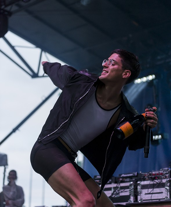 Arca's new album plays like a dirge, but his set was campy, disorienting fun - PORTER MCLEOD