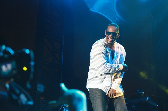 R. Kelly performs at Pitchfork Music Festival 2013 in Union Park. - RAMZI DREESSEN~SUN-TIMES SPLASH