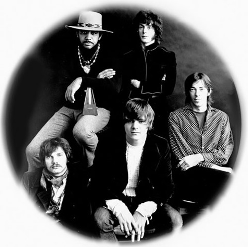 The Steve Miller Band circa 1968, with Miller in the center - COURTESY OF THE ARTIST
