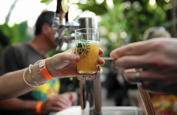 The bar's always open at the Chicago Craft Beer Festival Saturday 7/22-Sunday 7/23. - COURTESY OF CHICAGO CRAFT BEER FESTIVAL