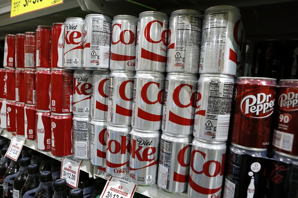 Sugar-free beverages are also covered by the penny-per-ounce tax still on hold pending a final ruling. - AP PHOTO/KEITH SRAKOCIC