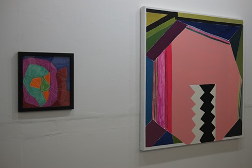 Works by collaborating artists Tim Stone (of Arts of Life) and Leslie Baum - ISA GIALLORENZO