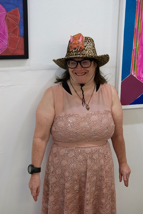 Arts of Life resident artist and curator Jean Wilson - ISA GIALLORENZO