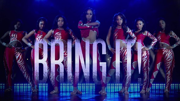 The popular Lifetime show Bring It! brings . . . it—in the form of a live performance at Chicago Theatre on Friday 7/28. - SOUNDBYTE INC