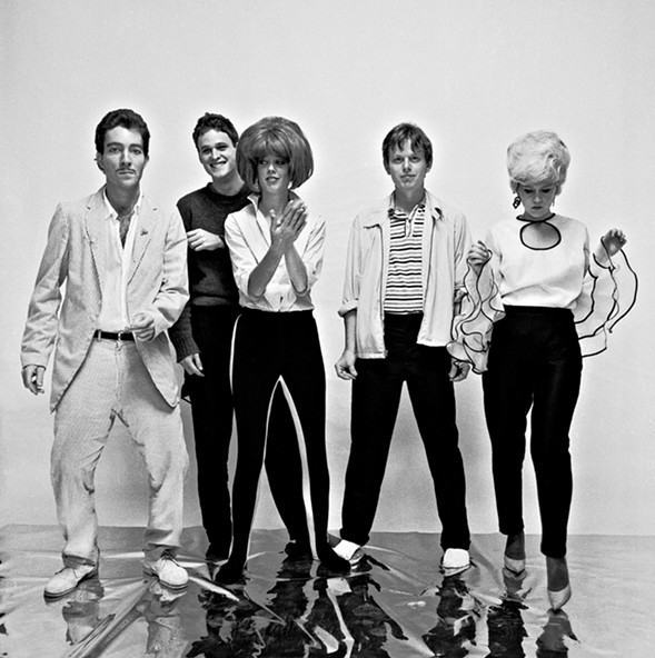 The original B-52s lineup - COURTESY OF THE ARTISTS