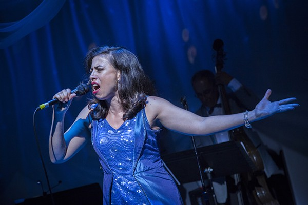 Sandra Delgado in Teatro Vista's La Havana Madrid, at the Goodman Theatre - ERIK SCANLON