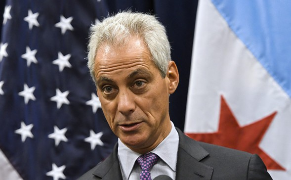 Mayor Rahm Emanuel speaks during a news conference in Chicago. - AP PHOTO/MATT MARTON, FILE