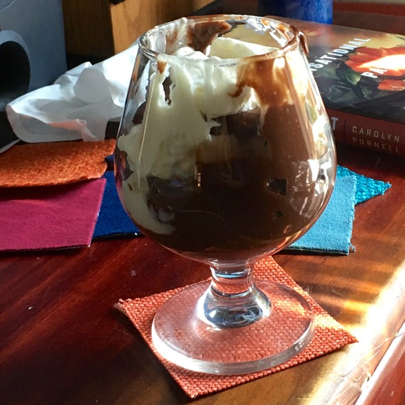 Silky Chocolate Pudding with Homemade Cool Whip, aka Pudding in a Cloud - AIMEE LEVITT