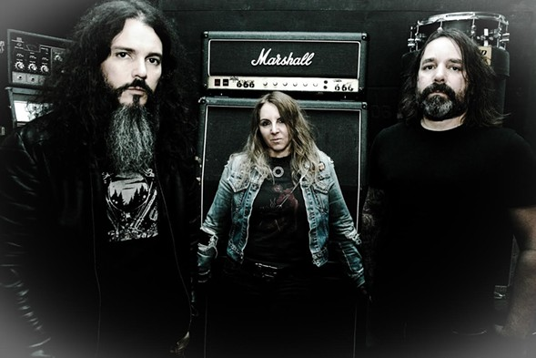 Acid King play Scorched Tundra on Saturday, September 2. - COURTESY THE ARTIST