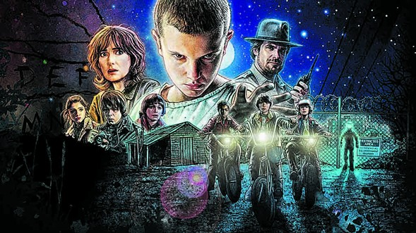 Dance to throwback 80s tunes at DJ Heaven Malone's Stranger Things pop-up party next door to Emporium Logan Square on Friday 8/25. - ABDUZEEDO