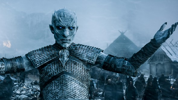 Defend yourself from the White Walkers, and lingering questions, at the Game of Thrones wrap party at DANK Haus Wednesday 8/30. - HBO