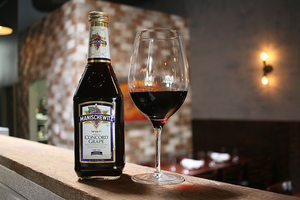Manischewitz Concord Grape Wine - JULIA THIEL