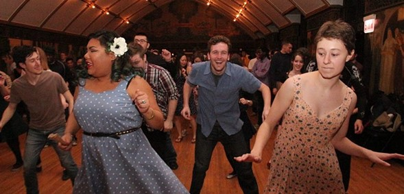 Shake your body to barnyard dance, honky tonk, and boogie-woogie blues at the Sing and Stomp Saturday 9/2. - COURTESY SING AND STOMP
