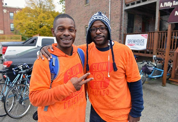 Slow Roll Chicago cofounders Jamal Julien and Oboi Reed - AL PODGORSKI