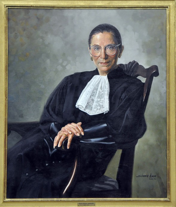 Supreme Court justice Ruth Bader Ginsburg speaks at the Auditorium Theatre Mon 9/11. - WIKIPEDIA