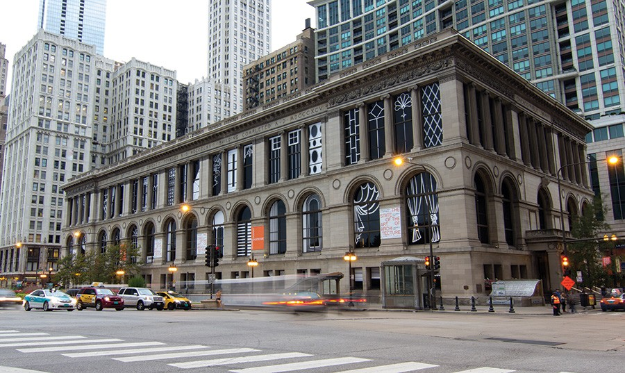 The Chicago Cultural Center, where the main exhibit of the Chicago Architecture Biennial will be held. - NORMAN KELLEY
