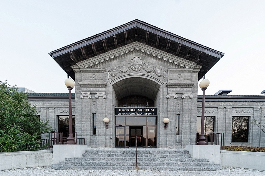The DuSable Museum of African American History is one of the biennial's anchor sites. - OLU AKINTORIN JR.