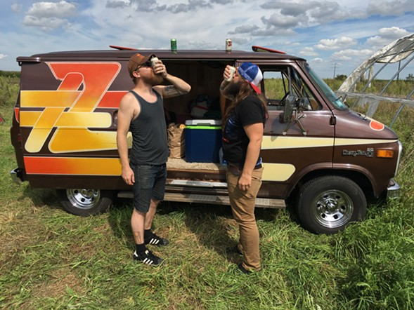 Turn your headlights toward Chicago's vanning culture at Ass Grass or Gas on Wednesday 9/21. - TIGER STRIKES ASTEROID