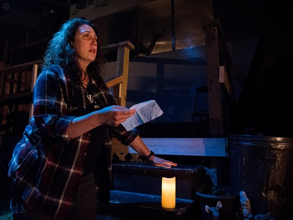 Wildclaw Theatre's Night in Alachua County - CLARK BENDER