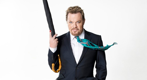 Eddie Izzard performs and reads from his new book Believe Me at the Athenaeum Thursday 10/5. - COURTESY OF WESTBETH ENTERTAINMENT