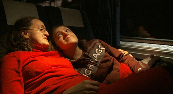 The final feature by the late Grey Gardens director Albert Maysles, In Transit, is currently playing at the Gene Siskel Film Center. - CREATIVE COMMONS