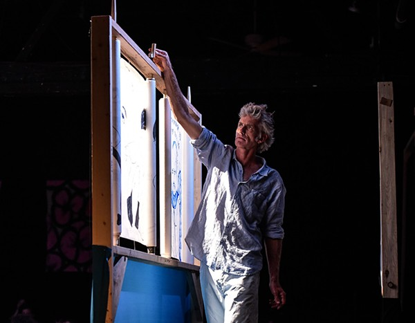 Former Chicagoan and Theater Oobleck ensemble member Dave Buchen has lived in Puerto Rico since 1999. - EVAN HANOVER