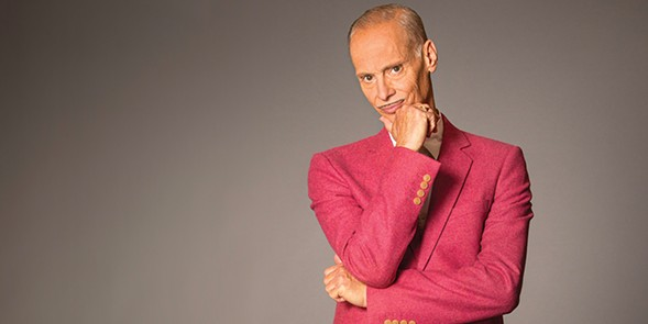 John Waters asks goofy questions about Christmas at Thalia Hall on Monday 11/27. - GREG GORMAN