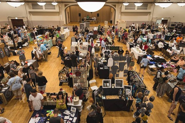 The Reader's Made in Chicago Holiday Market takes place on Sunday 12/3 at Plumbers Hall.