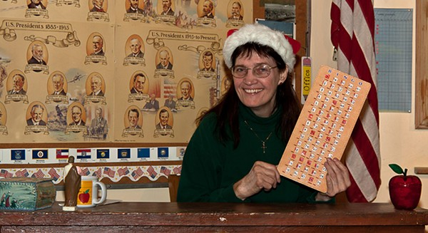 Christmas Bingo: It's a Ho-Ho-Holy Night - COURTESY THE ARTIST