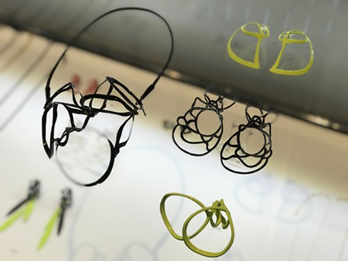 Pieces by Laura Wood made in brass, sterling silver, and powder coat, ranging from $90 to $700 - ISA GIALLORENZO