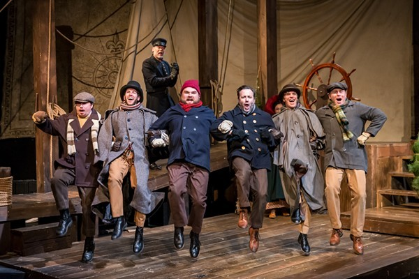 Mercury Theatre's The Christmas Schooner - BRETT A. BEINER