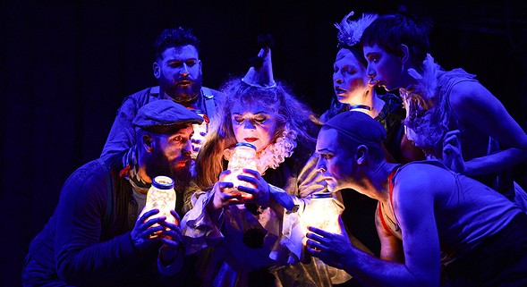 The Ruffians' Burning Bluebeard is part of a New Year's Eve double bill with The Infinite Wrench, the Neo-Futurists' successor to Too Much Light Makes the Baby Go Blind. - COURTESY OF ARTIST