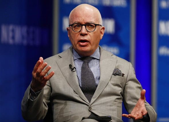 Michael Wolff, author of Fire and Fury - AP FILE PHOTO