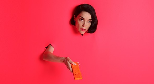 St. Vincent aka Annie Clark plays from her new album at the Chicago Theatre on Friday 1/12. - NEDDA ASFARI