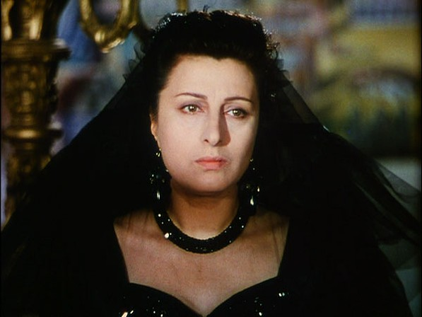Anna Magnani in Jean Renoir's The Golden Coach