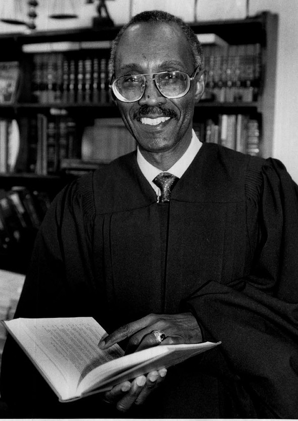 Judge William Cousins Jr. in 1991 - BOB RINGHAM
