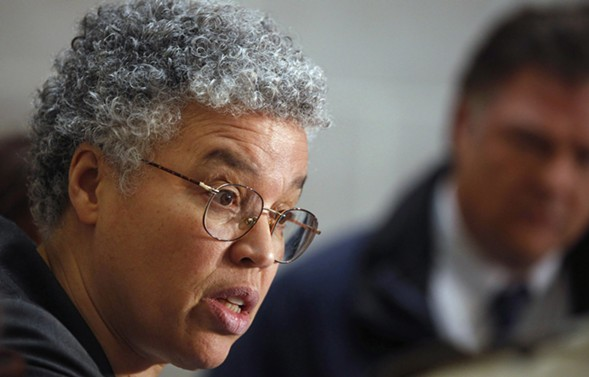 Cook County Board president Toni Preckwinkle - AP PHOTO/M. SPENCER GREEN, FILE