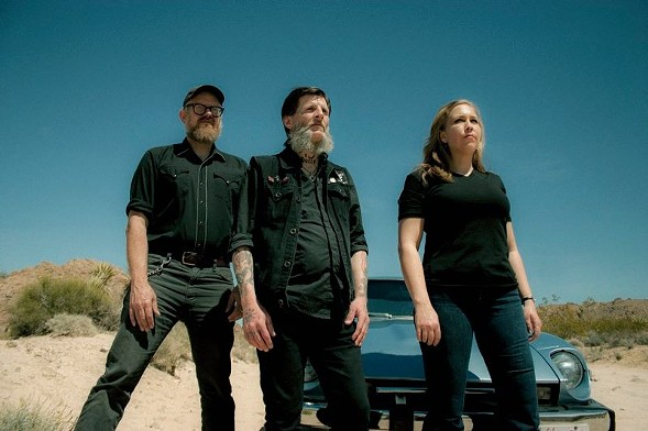 Earth circa 2014, almost a decade after the Reader published a tremendous review of the band's live show by Monica Kendrick. - FROM EARTH'S FACEBOOK