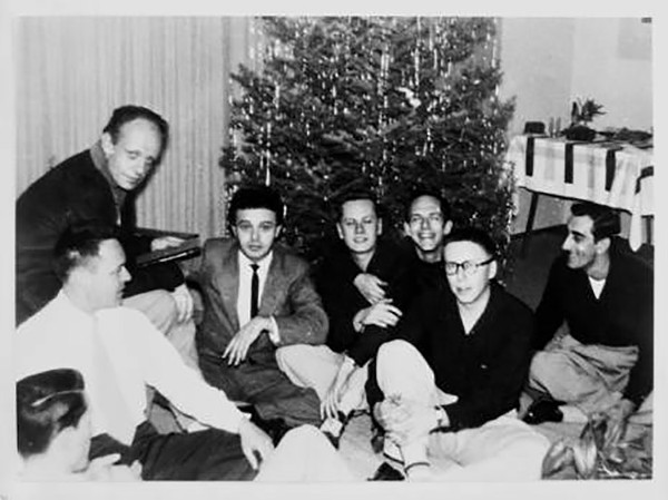A Mattachine Society Christmas party - COURTESY OF ONE ARCHIVES AT THE UNIVERSITY OF SOUTHERN CALIFORNIA LIBRARIES