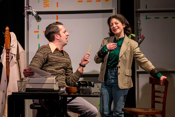 Bunny Bunny: Gilda Radner, a Sort of Love Story plays at the Mercury Theater Wed 2/21-Thu 2/22.