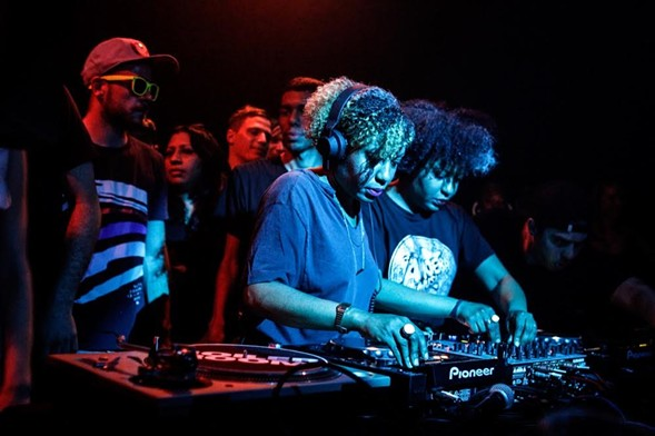 New York DJ duo Analog Soul will perform at Daphne on Saturday, March 10. - COURTESY THE ARTIST