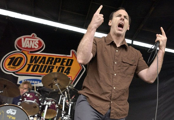 Bad Religion at the 2004 Warped Tour - JON SALL/SUN-TIMES