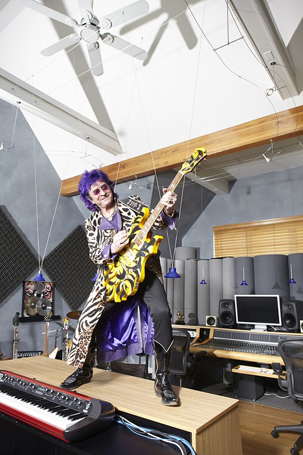 """""""I can't go to the supermarket with my wife, because it bothers her when she's trying to pick out broccoli and there's a fan who wants a photo,"""" says Jim Peterik. - COLLEEN DURKIN"""