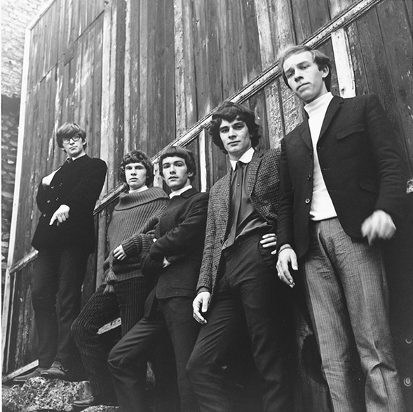 Colin Blunstone is second from right in this photo of the 1960s Zombies lineup, with Chris White, Rod Argent, Paul Atkinson, and Hugh Grundy. - PROVIDED BY THE ZOMBIES