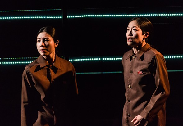 The dark comedy You for Me for You, about two sisters escaping North Korea, plays at Victory Gardens Theater 3/23-3/25. - MICHAEL TUTINO