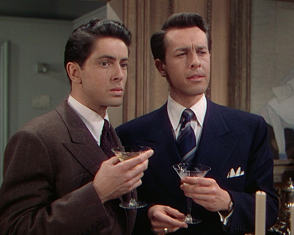 Farley Granger and John Dall in Rope